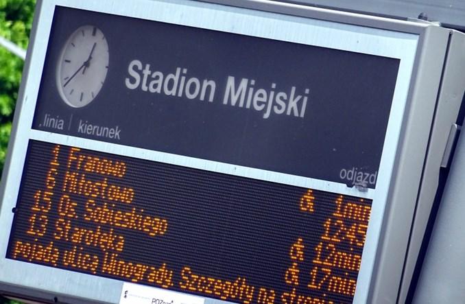 Poznań. Informacje o utrudnieniach na tablicach SIP