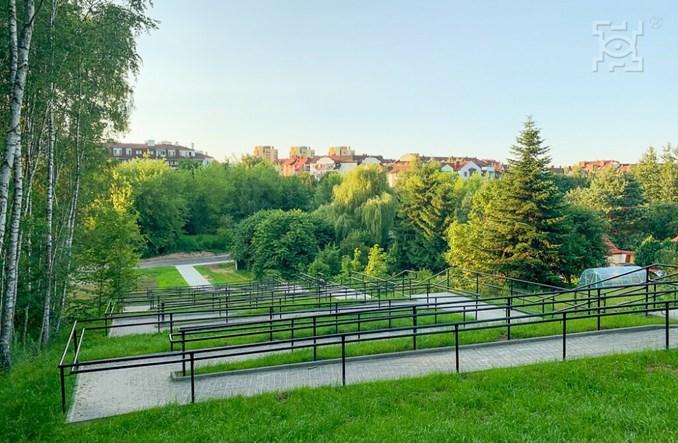 Do przystanku Lublin Zachodni można dojść nowym chodnikiem