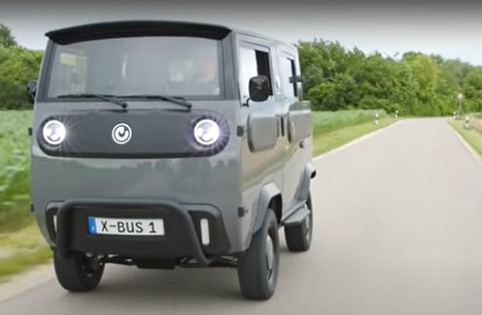 Niemcy: Elektryczny X-Bus – alternatywa w segmencie dostawczym