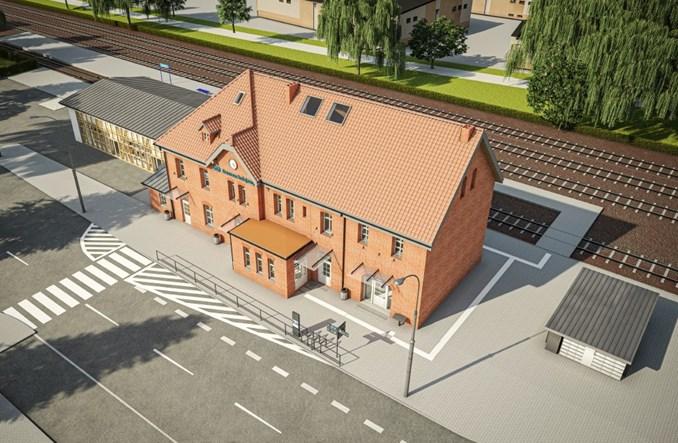 Dworzec w Pucku zostanie przebudowany. Ruszył przetarg [wizualizacje]