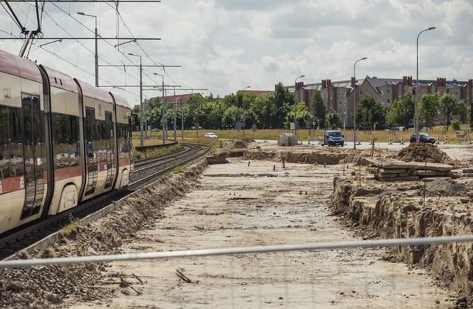 Gdańsk: Rozkręca się budowa trasy tramwajowej w ciągu Nowej Warszawskiej