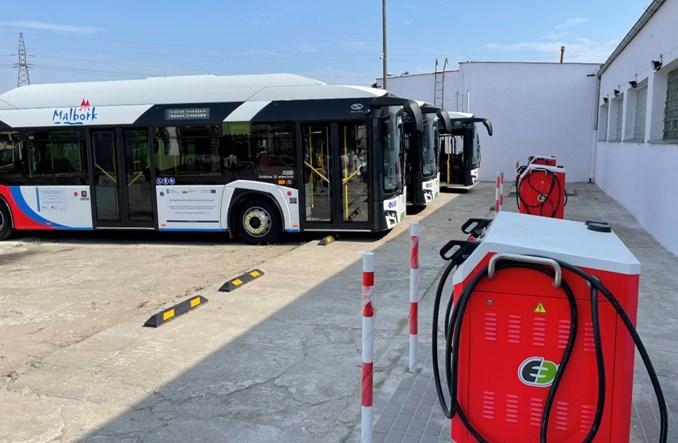 Malbork wprowadza do ruchu pierwsze elektrobusy