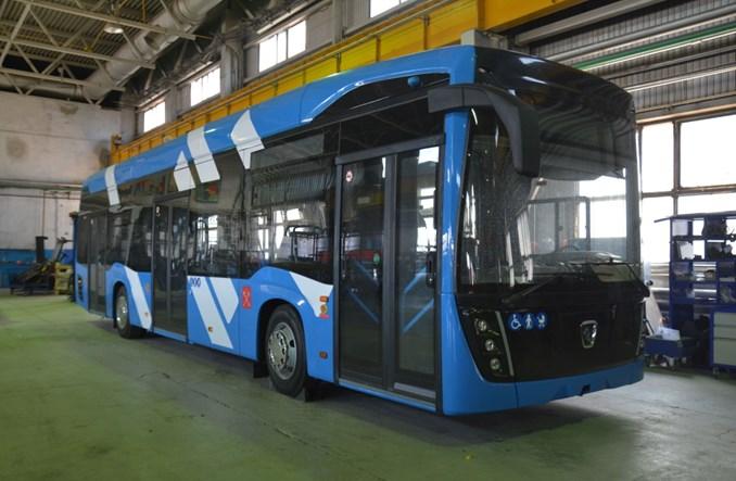 Kamaz wypuścił trolejbus o zwiększonym zasięgu jazdy bez sieci trakcyjnej