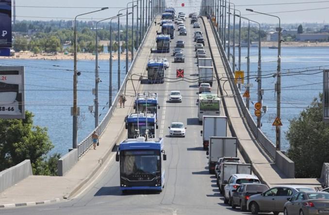 Saratów: Dostarczono pierwszą partię nowych trolejbusów