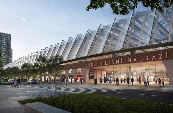 Nowy dworzec kolejowy w Brnie według holenderskiego projektu