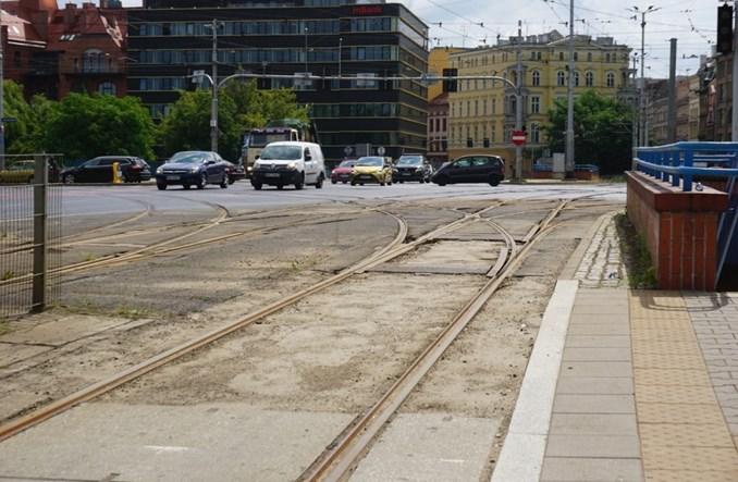 Wrocław: Szykuje się remont torowiska na placu Jana Pawła II. Harmonogram prac