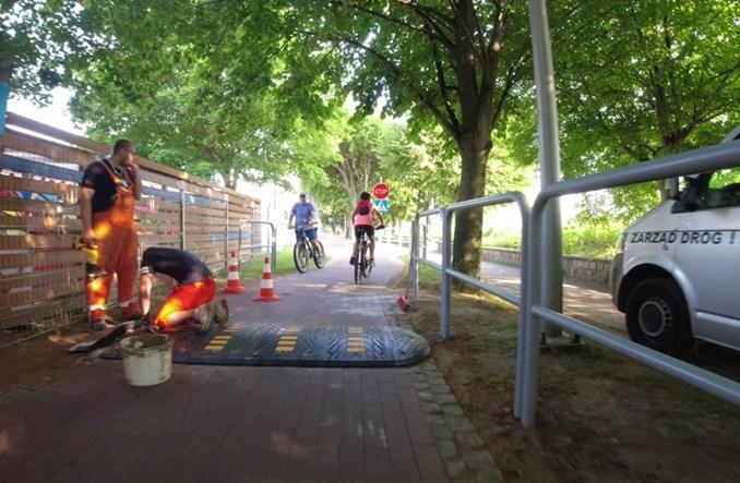 Sopot: Progi zwalniające dla rowerów. Czy to ma sens?