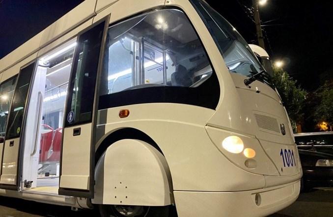 Kiszyniów z nowymi-używanymi trolejbusami Philleas