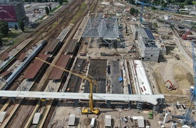 Budowa Warszawy Zachodniej schodzi pod ziemię