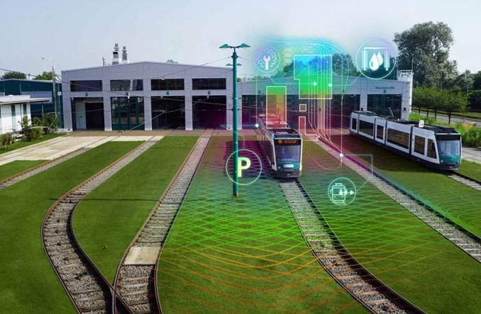 Poczdam z Siemens Mobility prezentują autonomiczną zajezdnię tramwajową