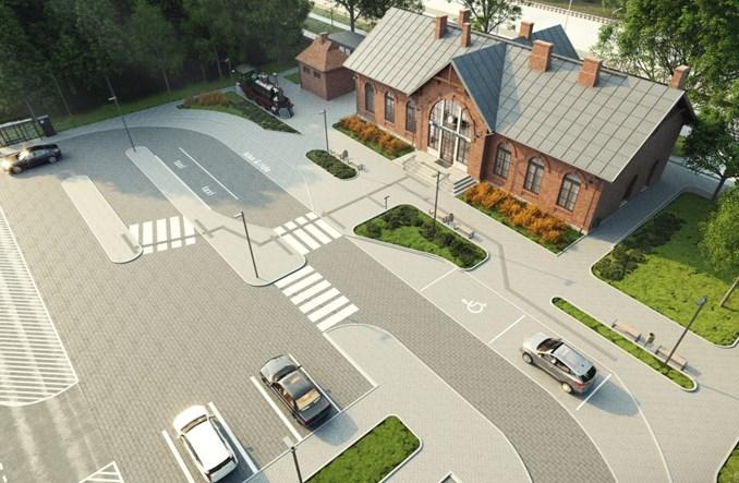 PKP SA zapowiadają przebudowę dworca w Sochaczewie [wizualizacje]