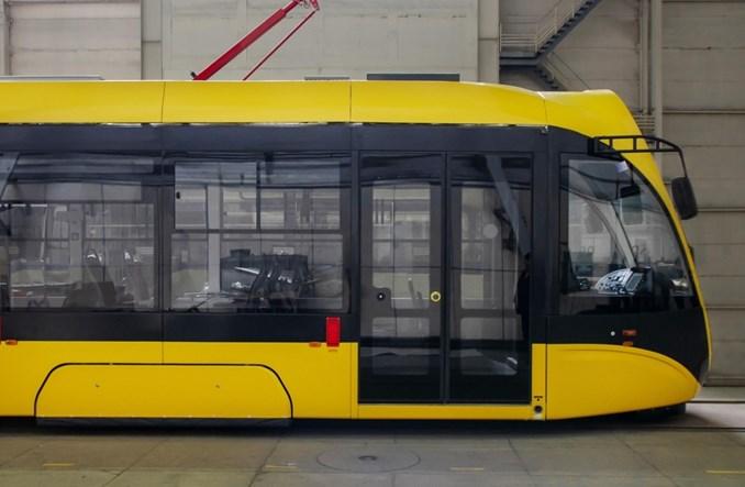Tatra-Jug dostarczyła pierwszy tramwaj do Kijowa