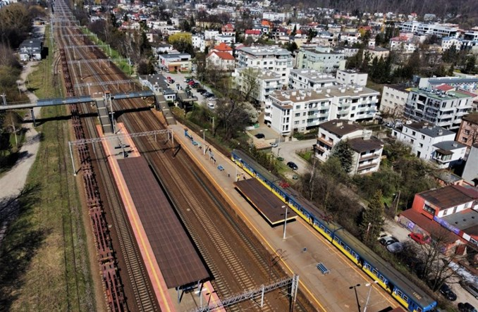 SKM modernizuje kolejny przystanek. Tym razem Gdynia Orłowo