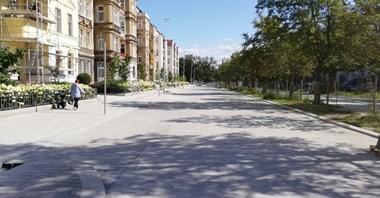 Szczecin: Ruch po nowej jezdni. Nowa organizacja ruchu na al. Jana Pawła II