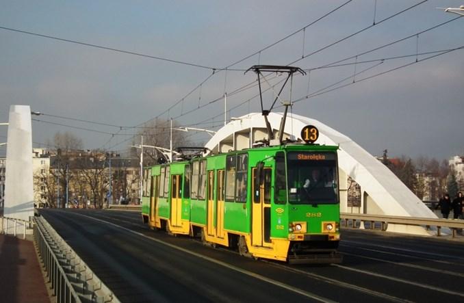 Poznań planuje rozbudować sieć tramwajową i wycofać wagony 105Na
