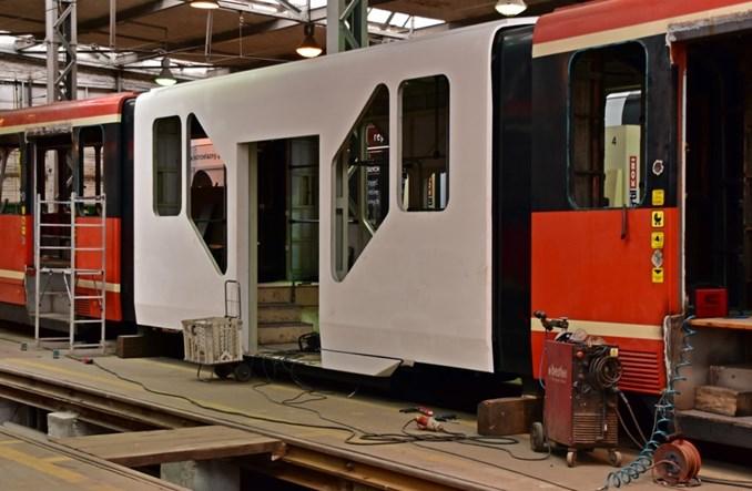 Tramwaje Śląskie: Przebudowa wagonów serii Pt zakończona. Trwają prace przy Karlikach