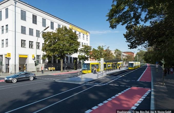 Tramwaj wjedzie w głąb Berlina Zachodniego. Ruszyła budowa
