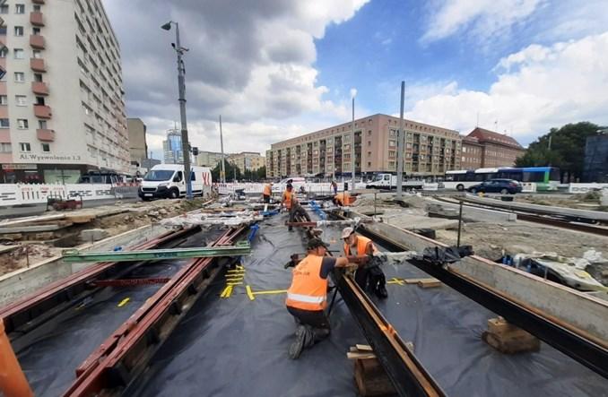 Szczecin: Przebudowa torowiska tramwajowego. Od września łatwiejszy przejazd