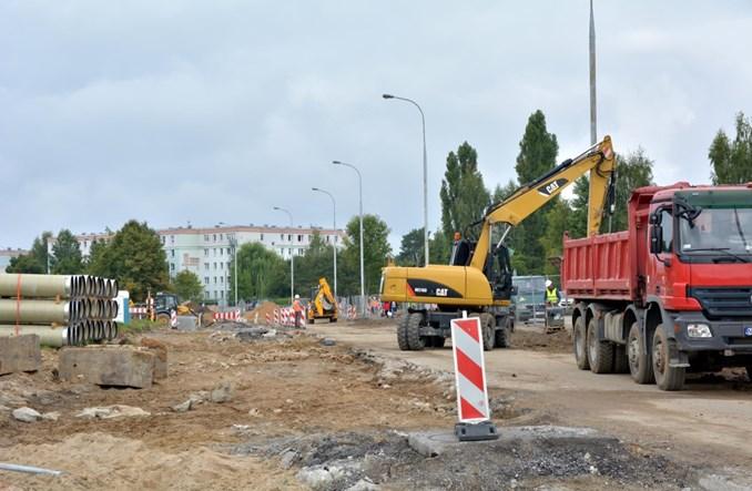 Pierwsze prace przy rozbudowie tramwajów w Olsztynie [zdjęcia]