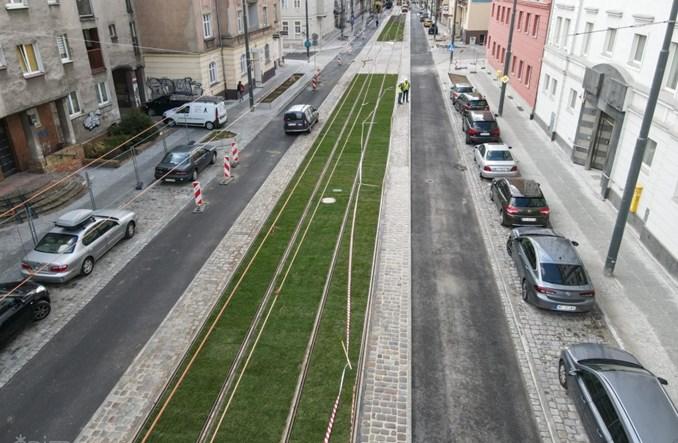 Poznań. Tramwaje wrócą na ul. Wierzbięcice we wrześniu