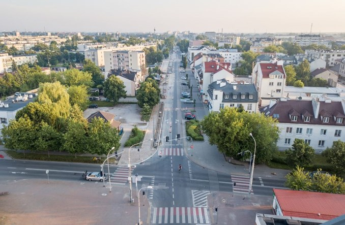 Piaseczno zawęziło Puławską. Przestrzeń odzyskana