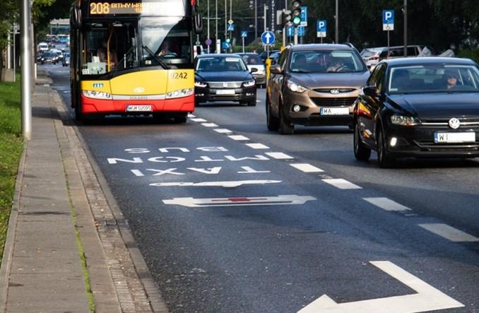 Warszawa zapowiada kolejne 38 km buspasów