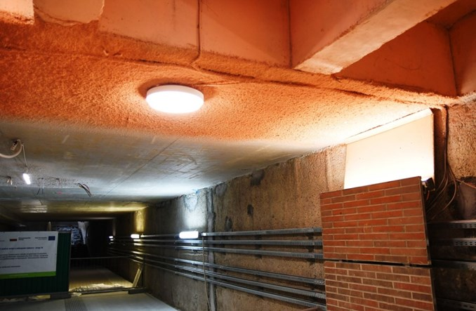 Metro na Bemowo: Próbki materiałów wykończeniowych na dniu otwartym