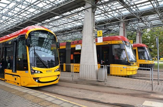 Warszawa: Tramwaj Hyundai w przedpremierowym przejeździe