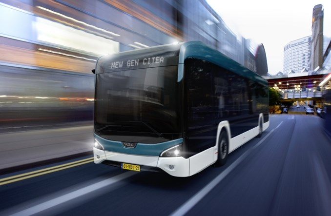 VDL dostarczy kolejne autobusy elektryczne do Finlandii