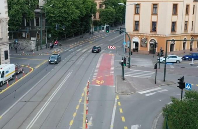 Kraków wycofał się z likwidacji drogi rowerowej na ul. Grzegórzeckiej