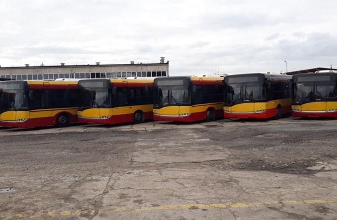 MZK Grudziądz kupił używane warszawskie Solarisy