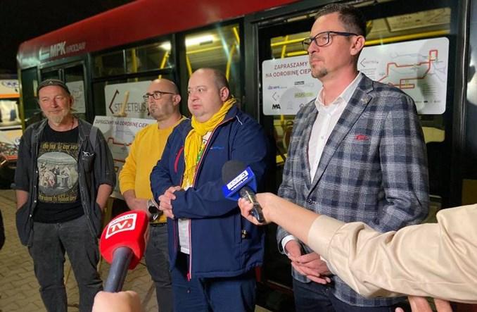 Streetbus wrócił na ulice Wrocławia