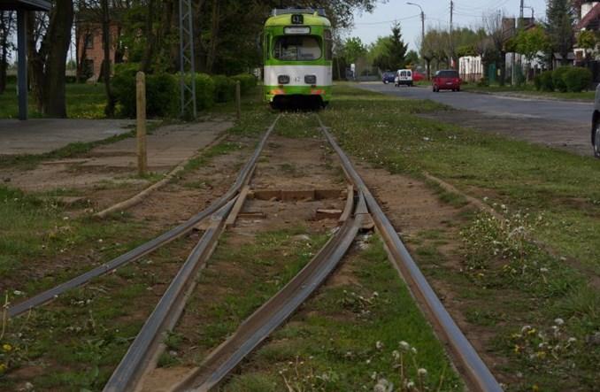 Konstantynów: Są pieniądze na modernizację linii tramwajowej