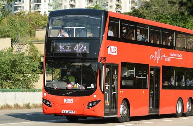 Piętrusy Volvo dotrą do Hong Kongu