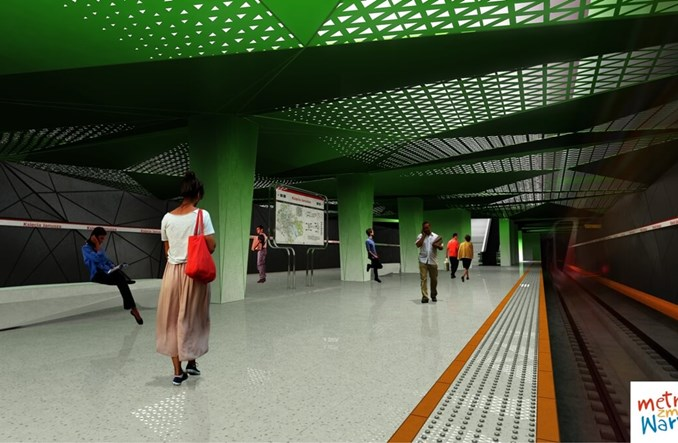 Metro na Wolę: Pierwsze pozwolenie na budowę wydane