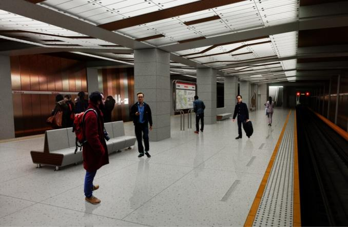 Warszawa ogłasza przetarg na rozbudowę metra o 3+3