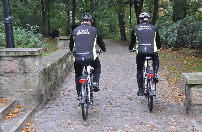 Wałbrzyska Straż Miejska pierwsza na rowerach elektrycznych
