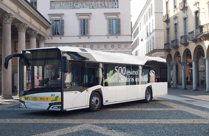 Pięćsetny Solaris we Włoszech. Pierwszy w nowej odsłonie