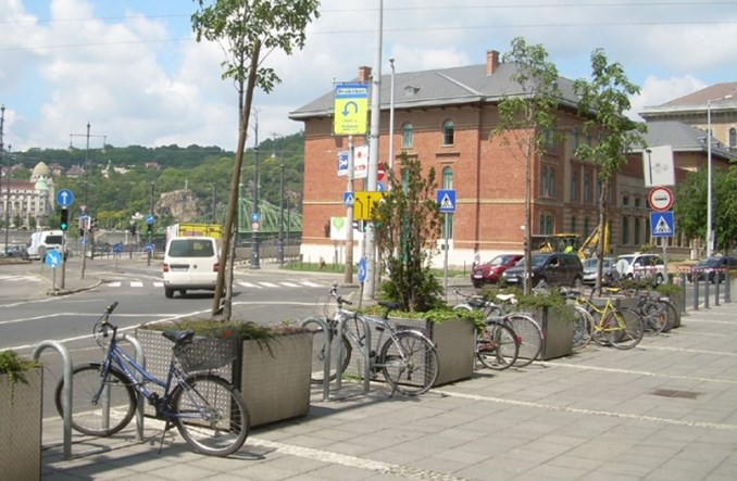 Węgry dużo bardziej rowerowe niż Polska