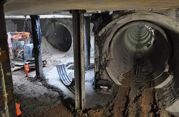 Metro: Na Powiślu dwa i pół tunelu gotowe