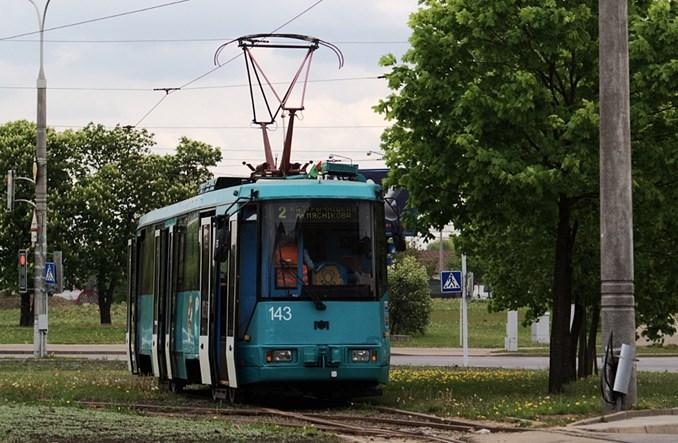 Mińsk. Tramwajem wśród dawnego przemysłu