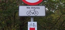 Słupki na drodze dla rowerów w Krakowie to zło konieczne