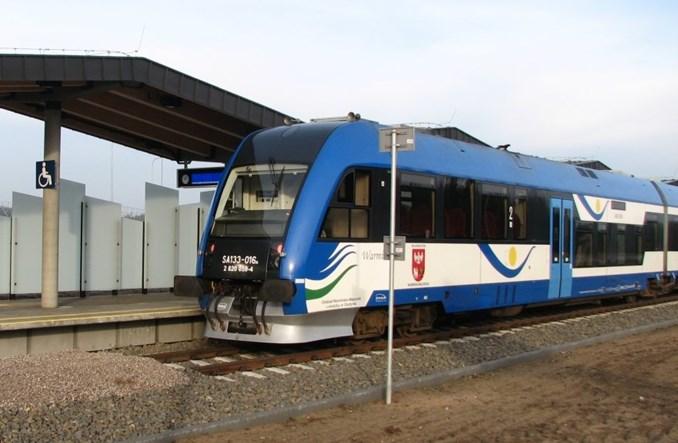 Pierwszy pociąg na lotnisko Szymany zderzył się z jeleniem