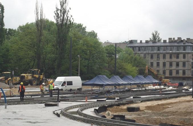 Łódź Fabryczna: Węzeł tramwajowy prawie gotowy