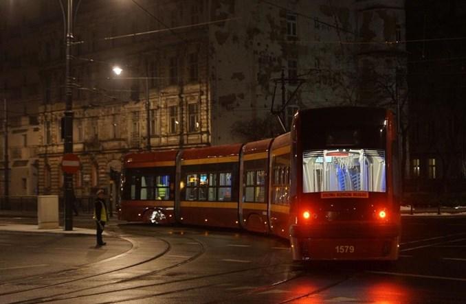 Łódź: Komunikacja przy Fabrycznym bez zakłóceń