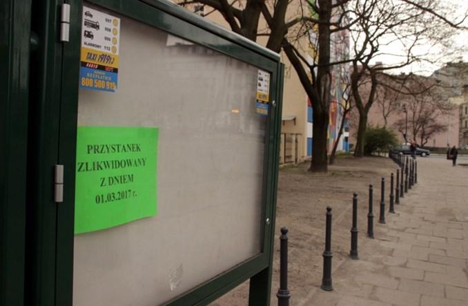 Łódź: Porządkowanie przystanków busów