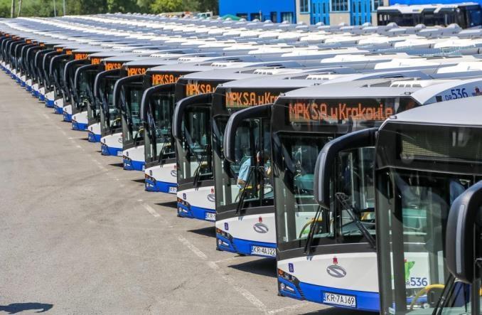 Duży krakowski przetarg na 78 nowych autobusów. W tym hybrydy