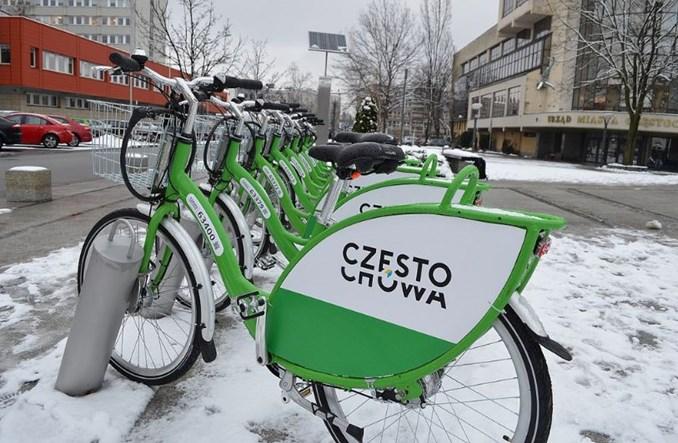 Od północy startują rowery miejskie