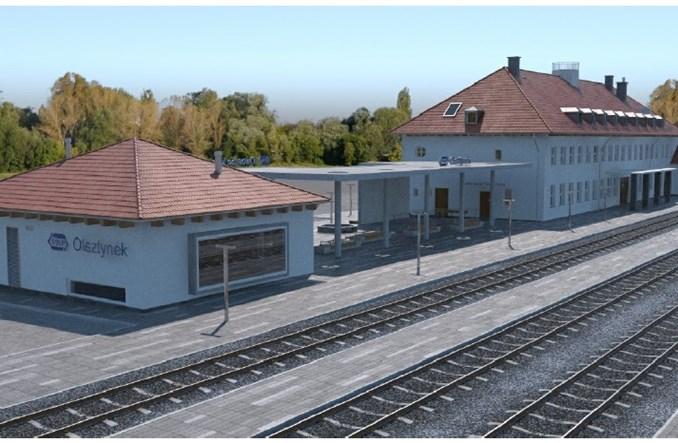 Jedna oferta na przebudowę dworca w Olsztynku