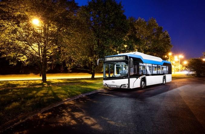Solaris liderem rynku autobusów bateryjnych w 2020 r.